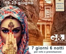Il fascino della Giordania 19-25 giugno